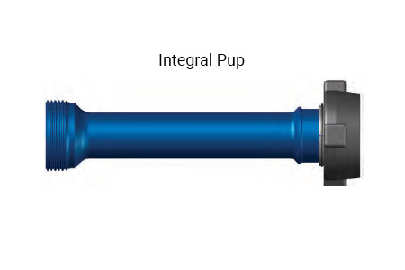 4 inch 1502 integral pup flow line