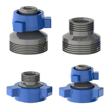 TSI Flow Products Crossovers in multiple configurations