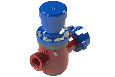 TSI Flow Products Hydraulic Plug Valve