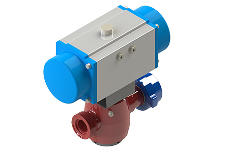 TSI Flow Products Pneumatic Plug Valve