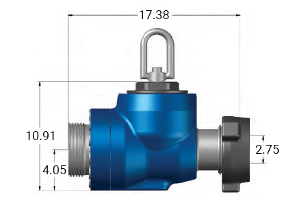 FFC-3300 Flapper Check Valve dimensions