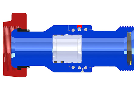 TSI Cartridge Swivel Joint Crosscut View